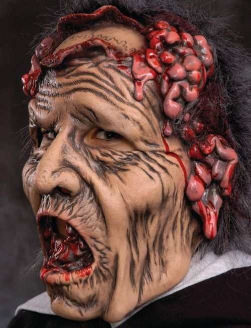 Mask Head Zombie Pitty Please Guillotine Halloween Zombie Body Prop